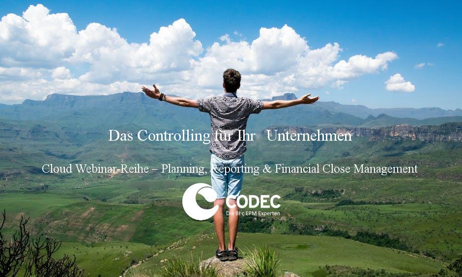 Cloud Webinar-Reihe - Planning, Reporting & Financial Close Management